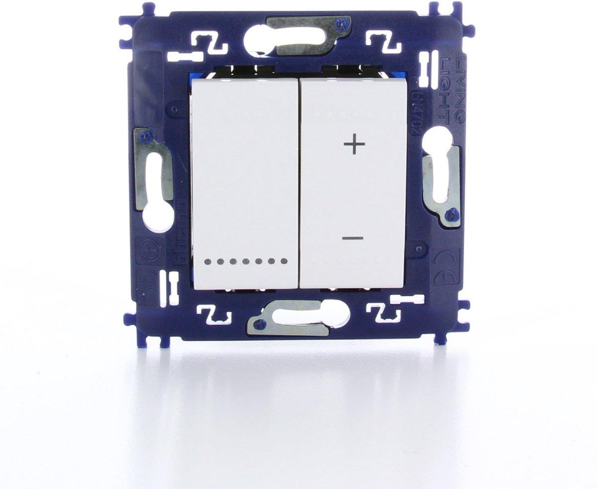 BTICINO Living Light - inbouw dimmer - universeel (ook LED) - schroefbevestiging kopen