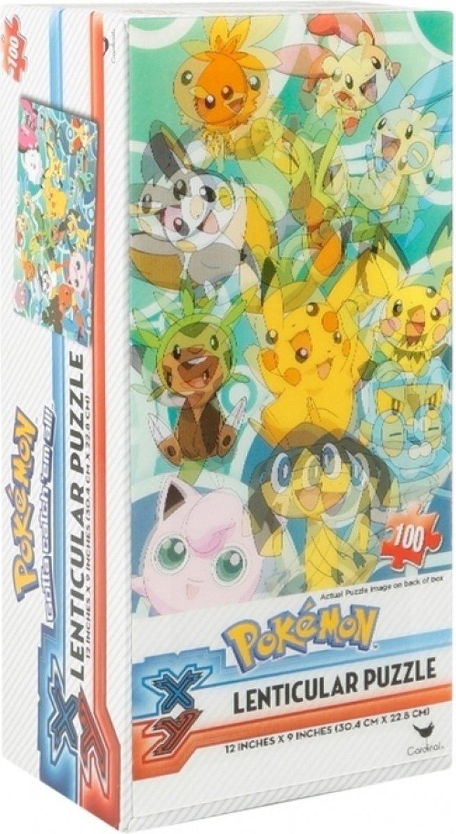 Pokemon X&Y Lenticular Puzzle