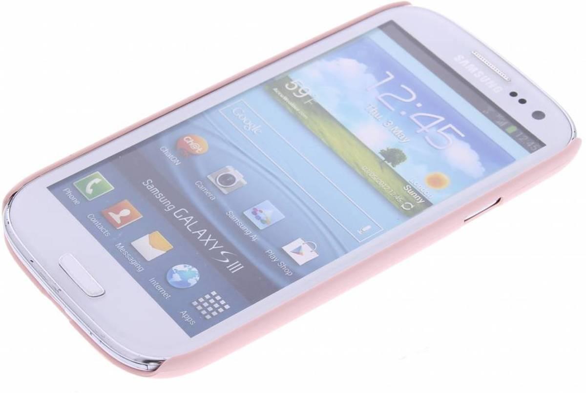 Poudre Rose Pastel Couverture Étui Rigide Pour Samsung Galaxy S3 / Neo I2Ol0vByLt