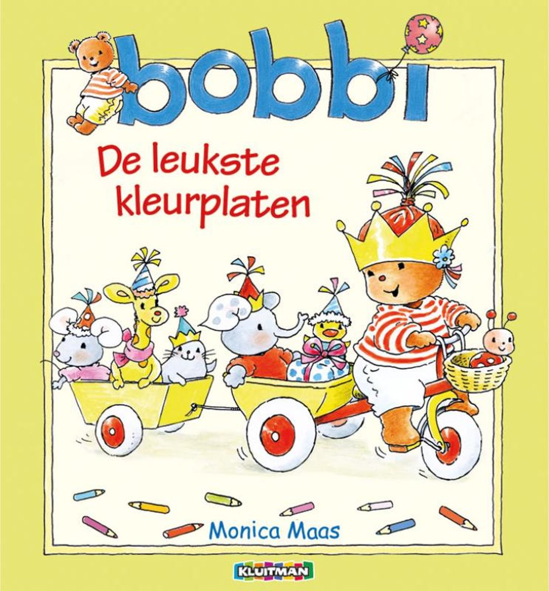 Kleurplaten Bobbi In De Herfst.Bol Com Bobbi Kleurboek Monica Maas 9789020684780 Boeken