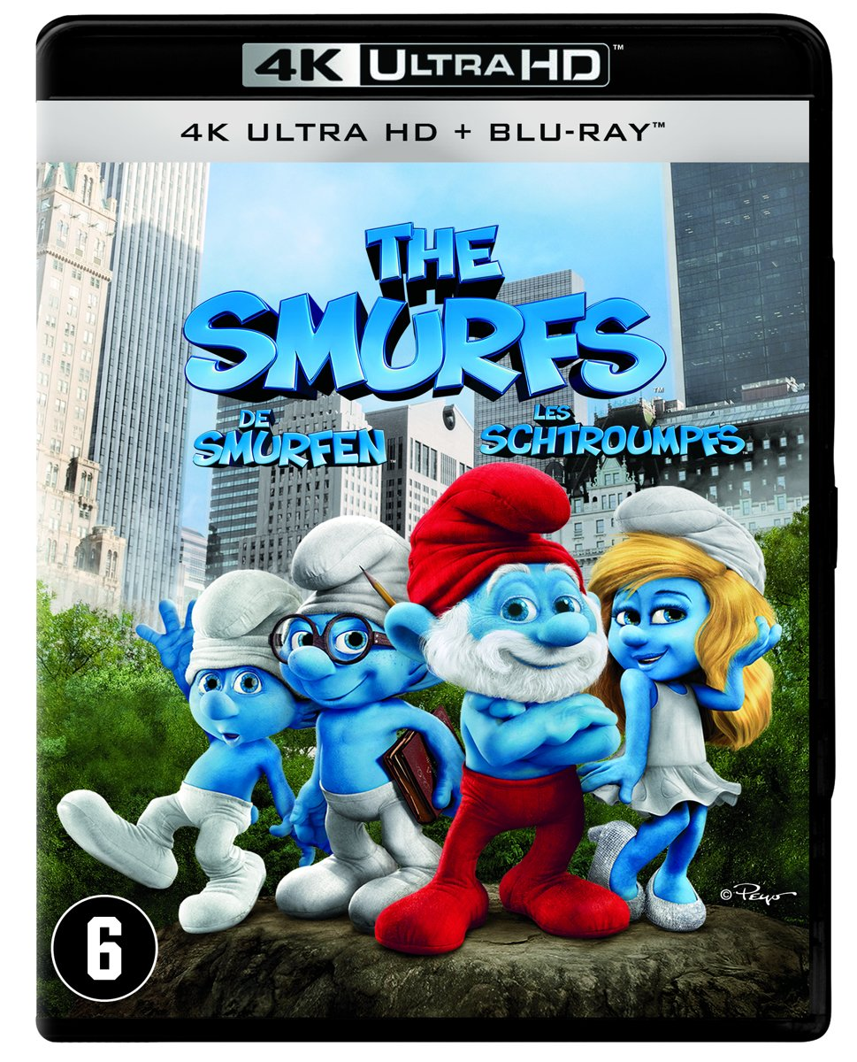 De Smurfen (4K Ultra HD Blu-ray)-