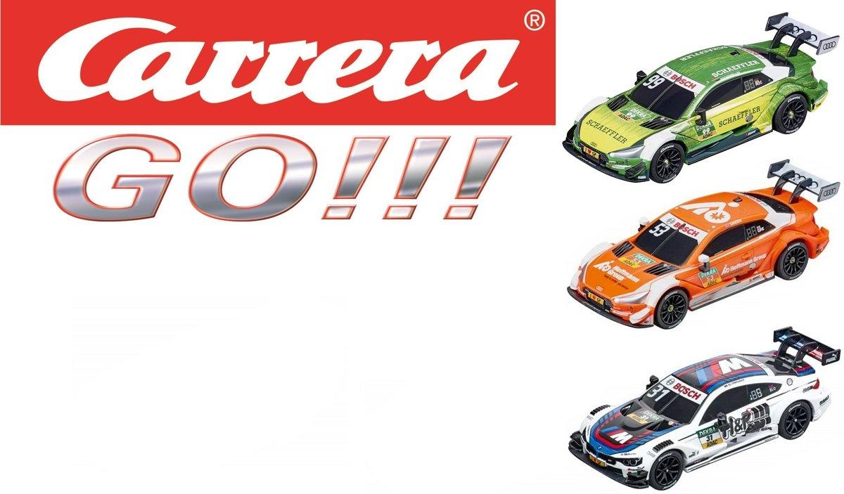 Carrera GO!!! ? DTM Racebaanauto?s | Green ? Rockenfeller - Blomqvist