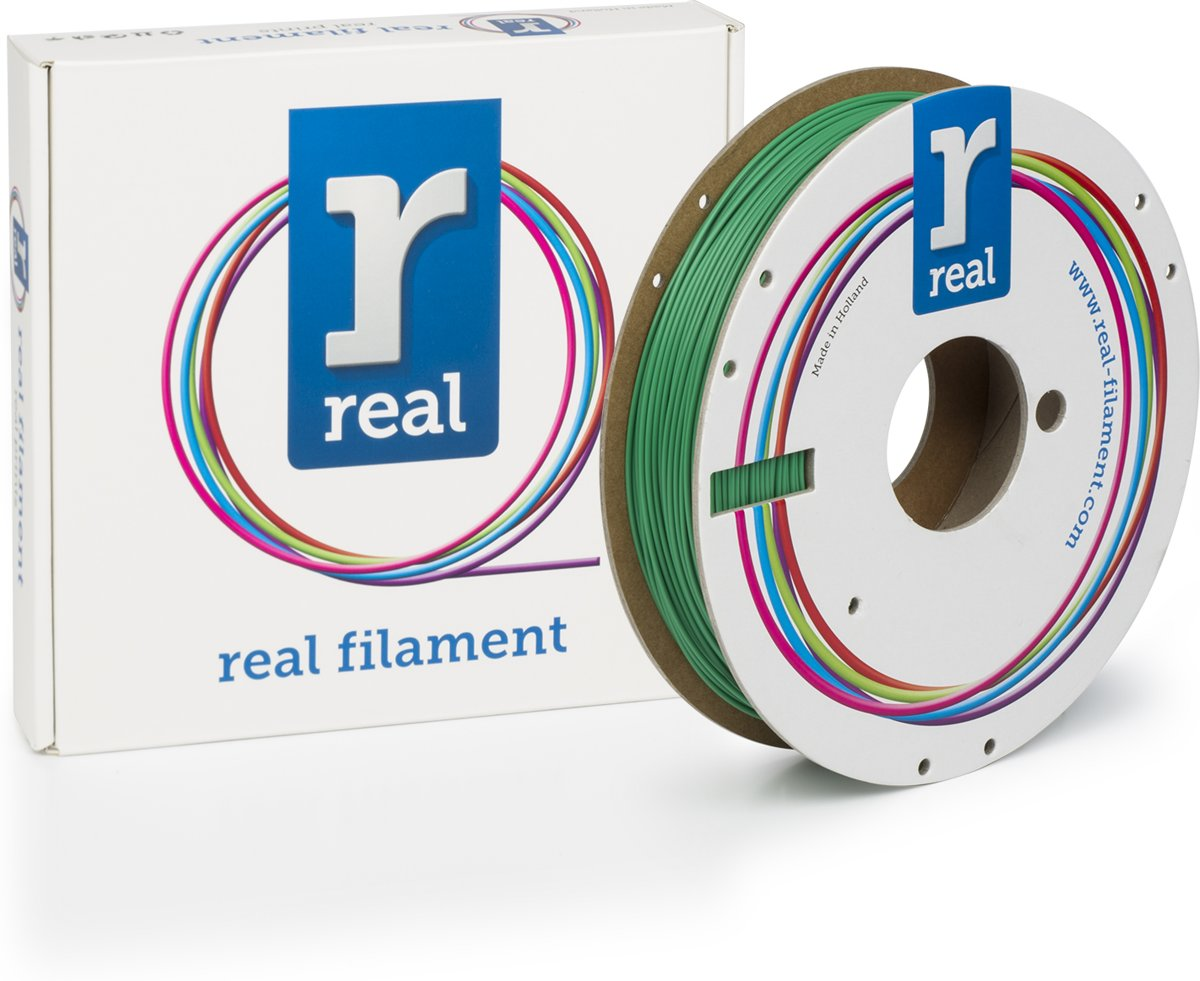 REAL Filament PLA groen 1.75mm (500g)