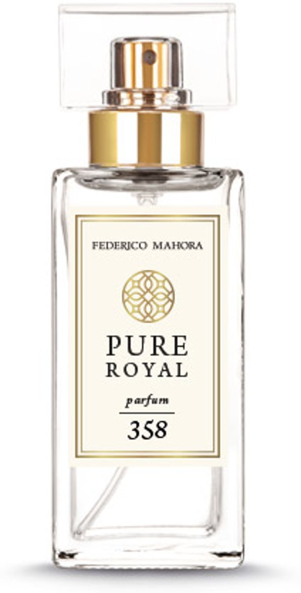 Parfum Pure Royal 358 Women & reisatomizer Brown