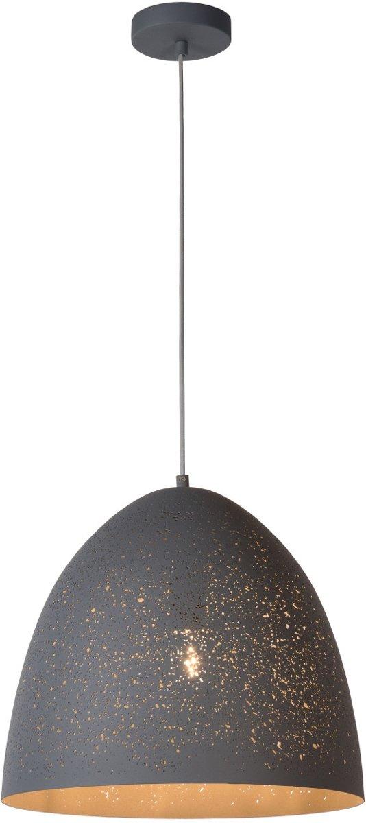 Lucide ETERNAL - Hanglamp - Ø 40 cm - E27 - Grijs kopen