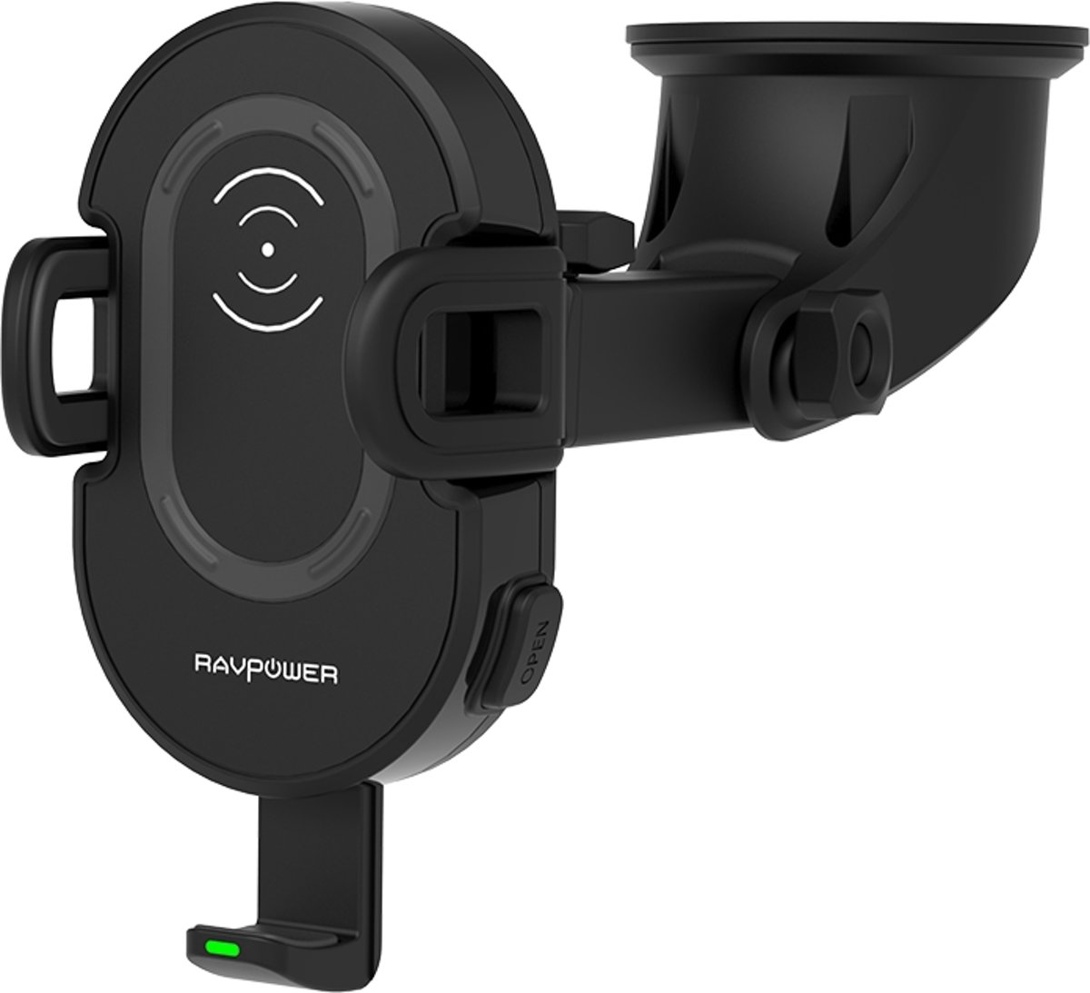 Ravpower Wireless Car Charger RP-SH007 and Car Holder Black kopen