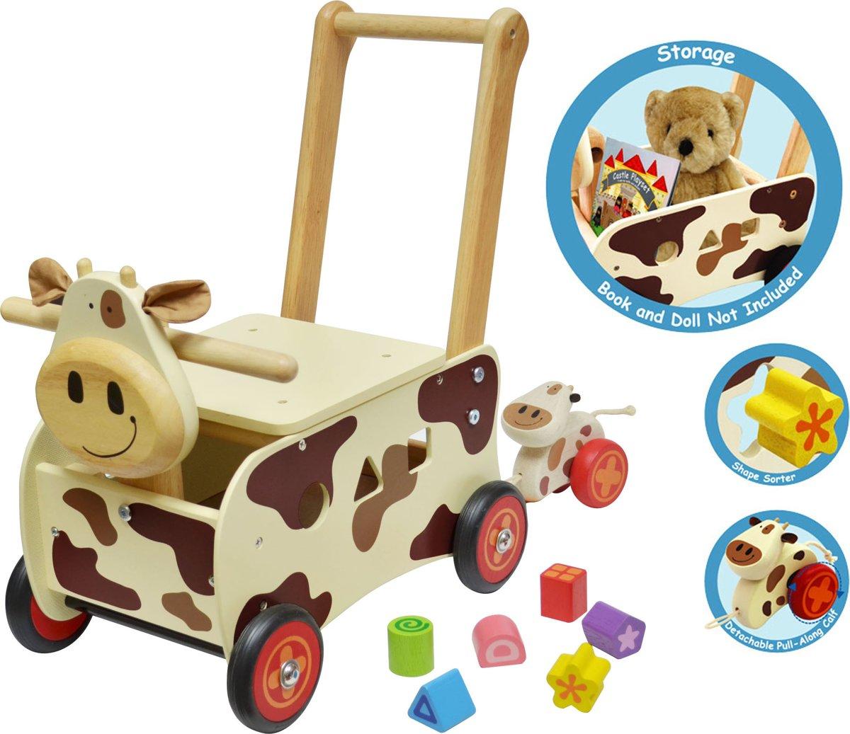 Im Toy - Loop/duwwagen - Koe
