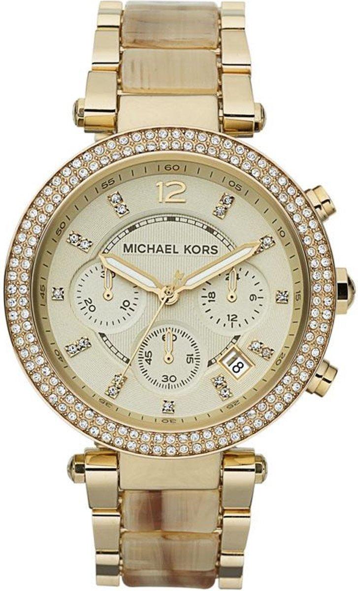   Mkors parker MK5632 Vrouwen Quartz horloge