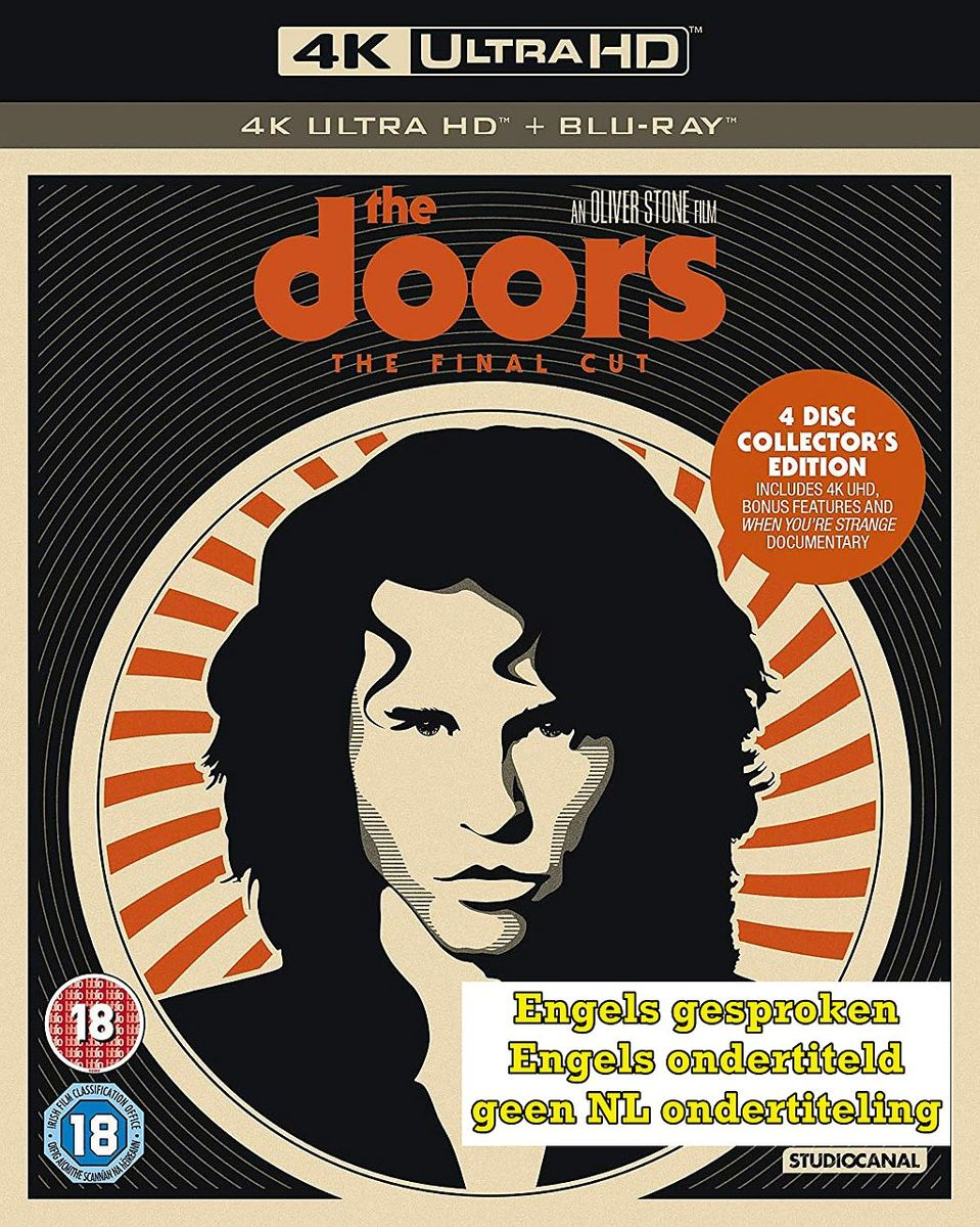The Doors – The Final Cut Collectors Edition [4K Ultra HD + Blu-ray]-