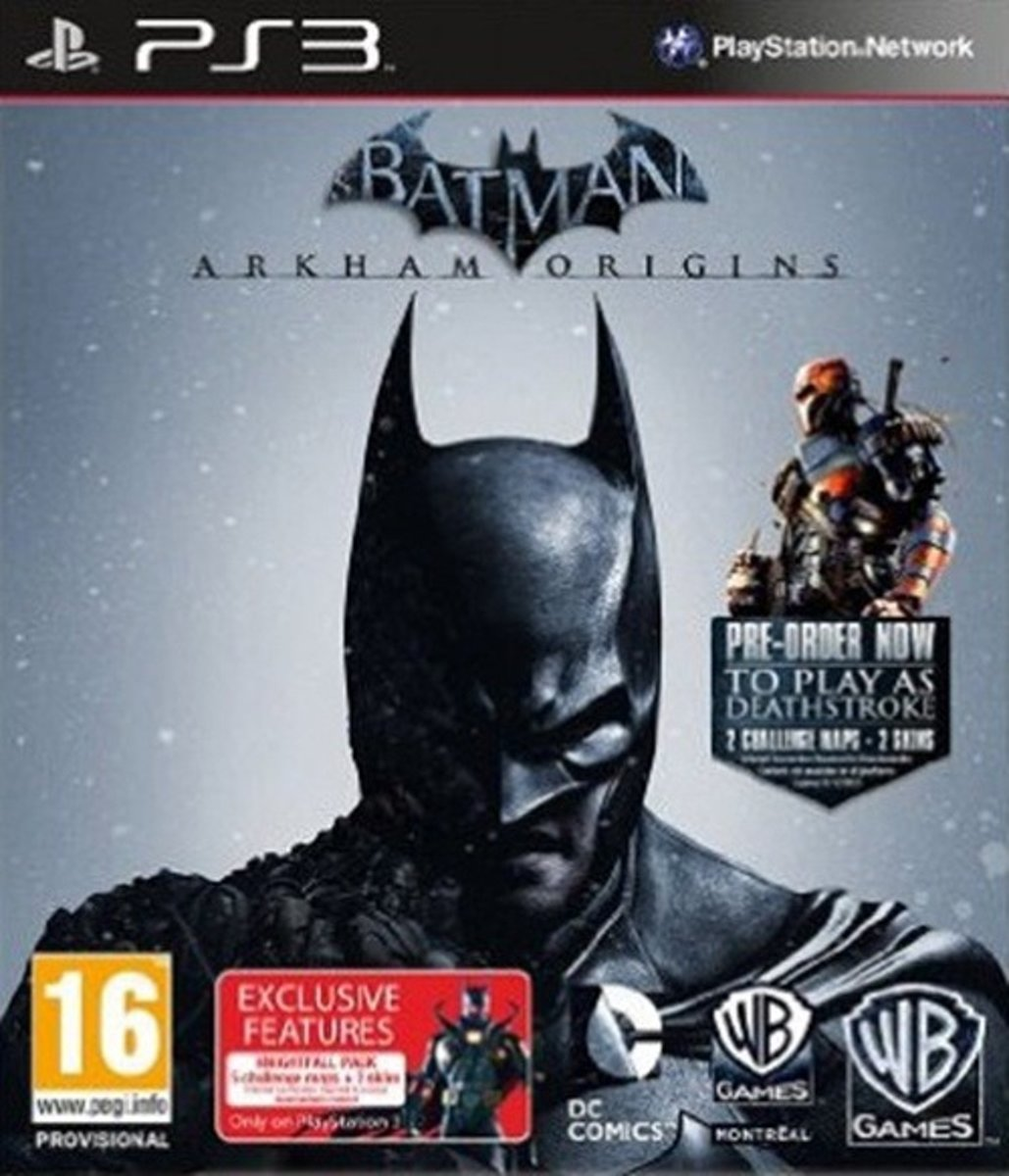 Batman Arkham Origins (Deathstroke) /PS3 kopen
