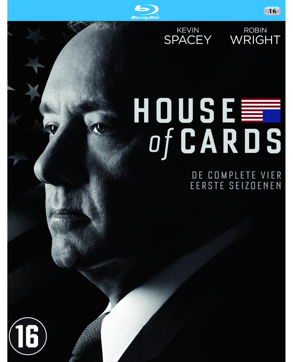 House Of Cards - Seizoen 1 t/m 4 (Blu-ray) kopen