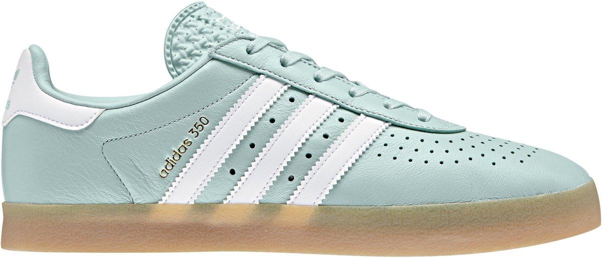 b57d7480be3 bol.com | adidas 350 Sneakers - Maat 39 1/3 - Vrouwen - mintgroen/wit