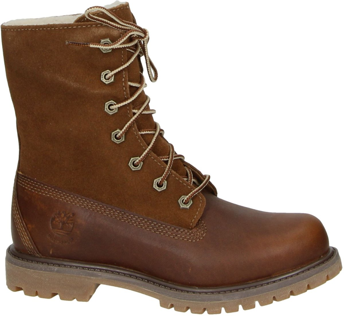 Timberland Authentic Teddy dames boot Bruin Maat 37