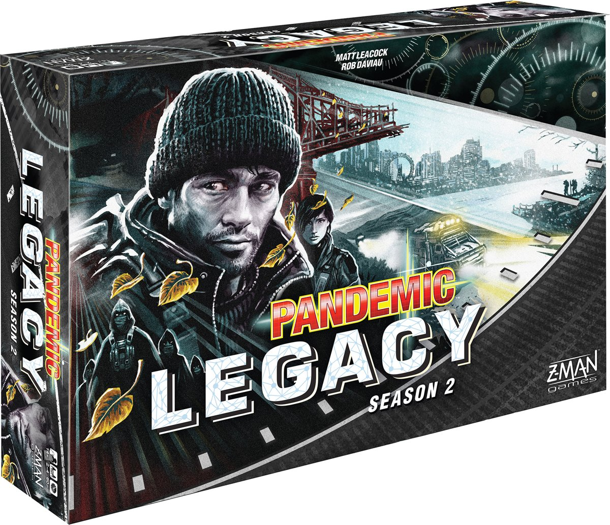 Pandemic Legacy Season 2 Black - Engelstalig Bordspel