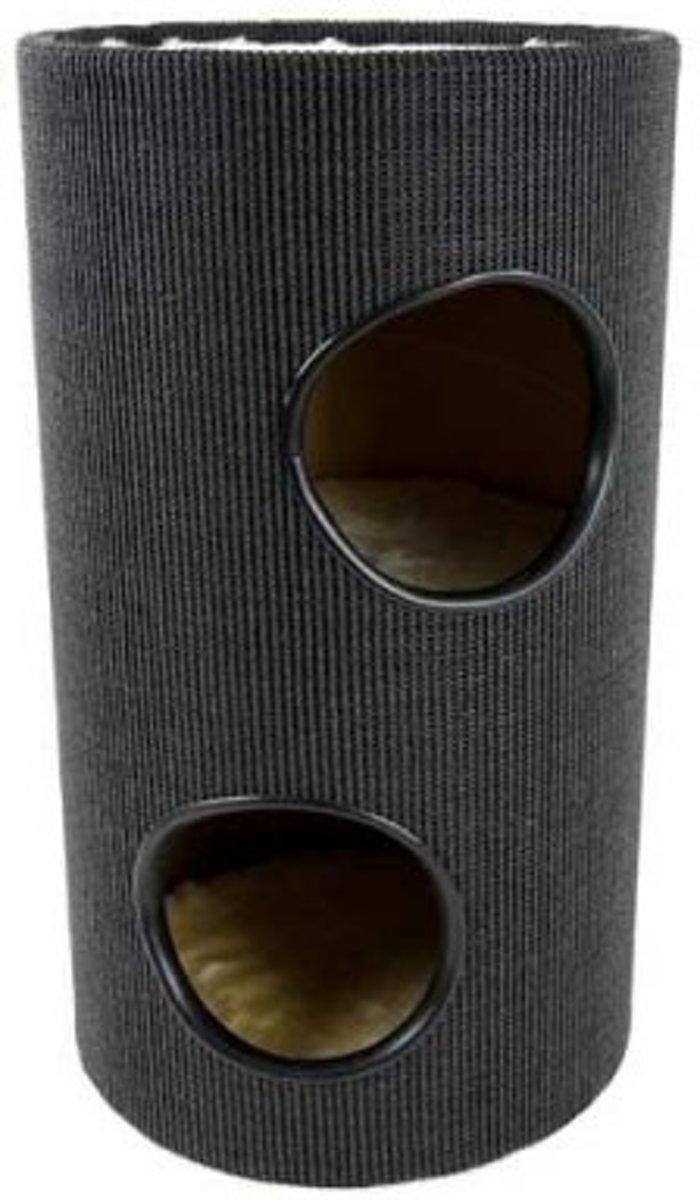 Krabton - 43x43x75 cm - Zwart