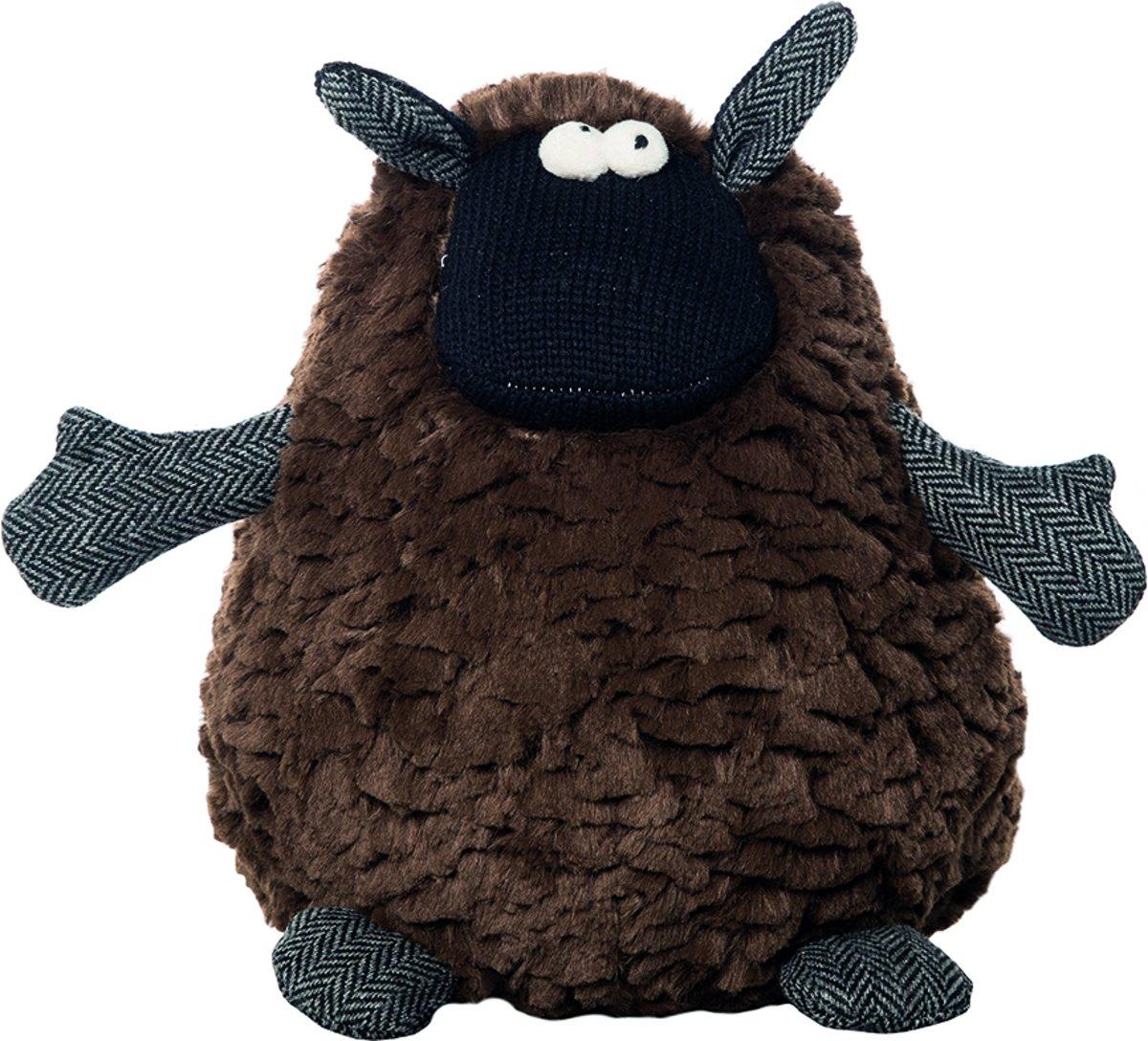 mars and more knuffel tweed egel dik 47 fluffy stuff bruin. Black Bedroom Furniture Sets. Home Design Ideas