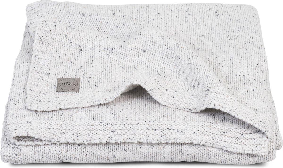 Jollein Confetti Knit Wiegdeken Natural 75 x 100 cm
