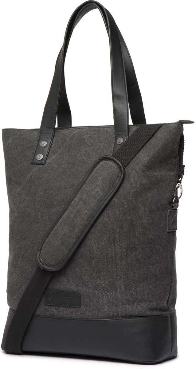 Cortina Oslo Shopper Bag 18L Antra/Black voor op de voordrager kopen