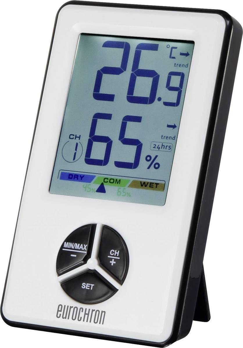Draadloze thermo- en hygrometer Eurochron kopen