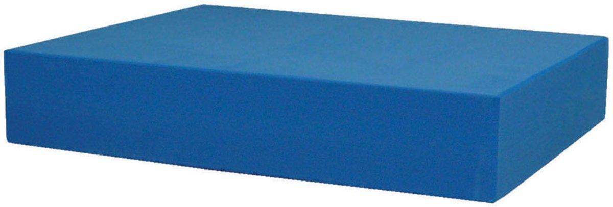 MADFitness - Sitting Block - 320 x 250 x 60 mm - Blauw kopen
