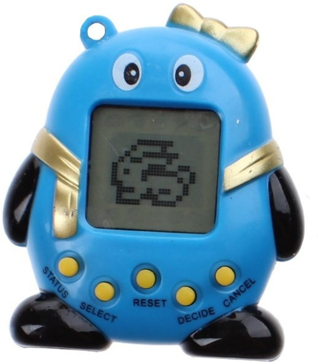 Kids Fun Elektronisch Huisdier Funny Pets 5,5 Cm Blauw
