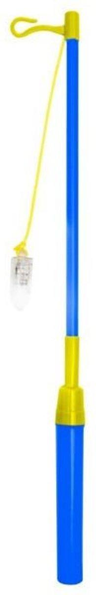 Lampionstokje met lampje 39cm Blauw kopen