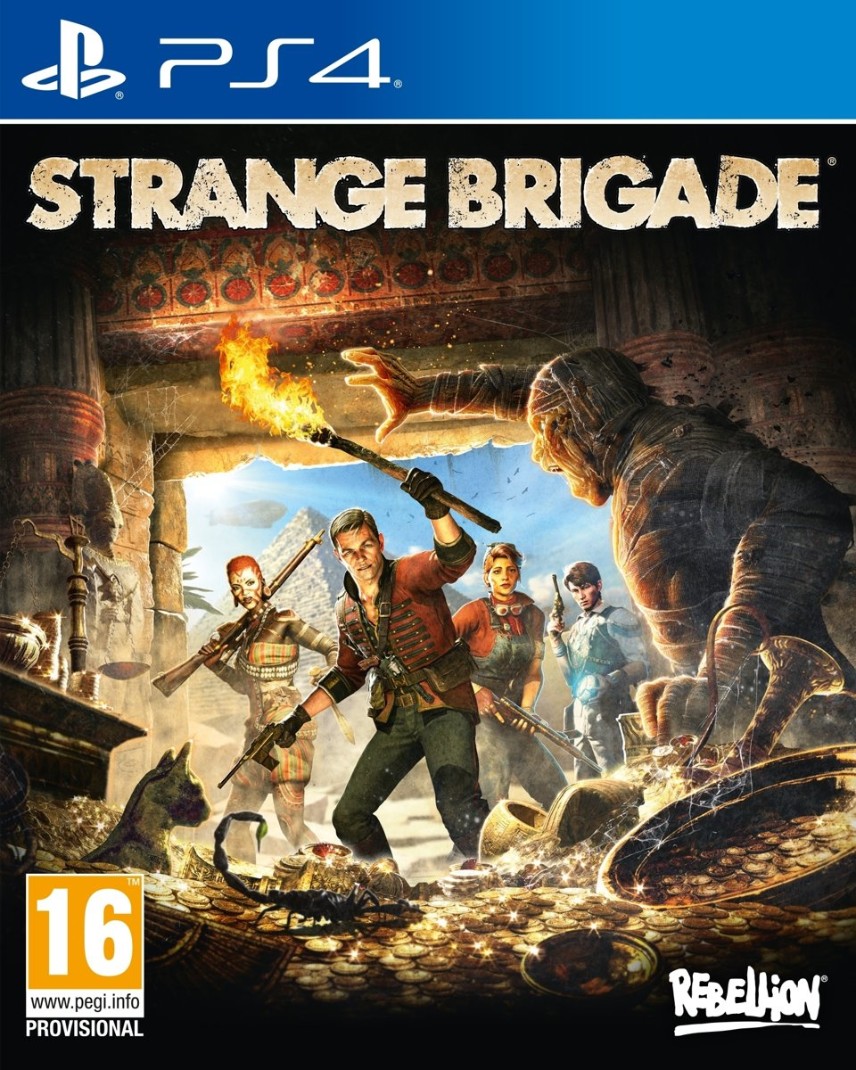 Strange Brigade PlayStation 4