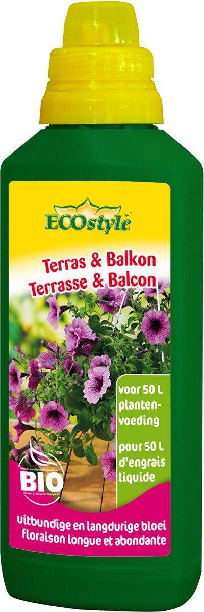 ECOstyle Terras & Balkon Plantenvoeding - 500 ml voor 50 liter plantenvoeding