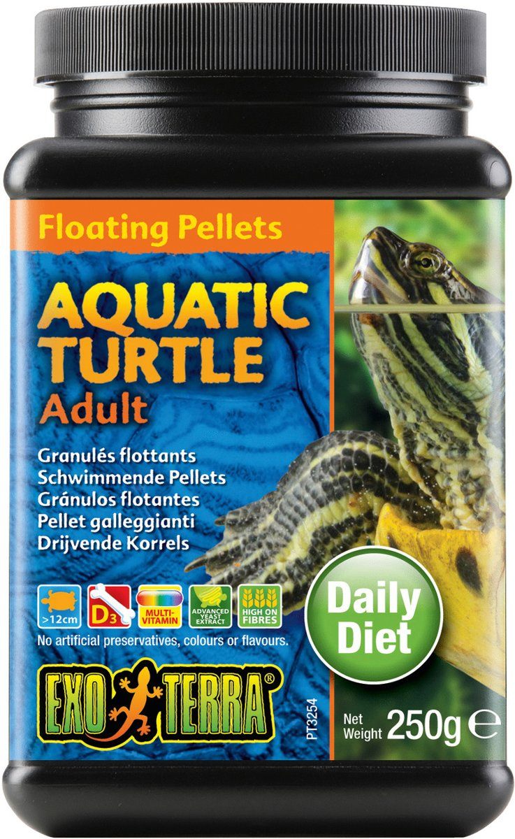 Floating Pellets Adult Water Turtles  250gr