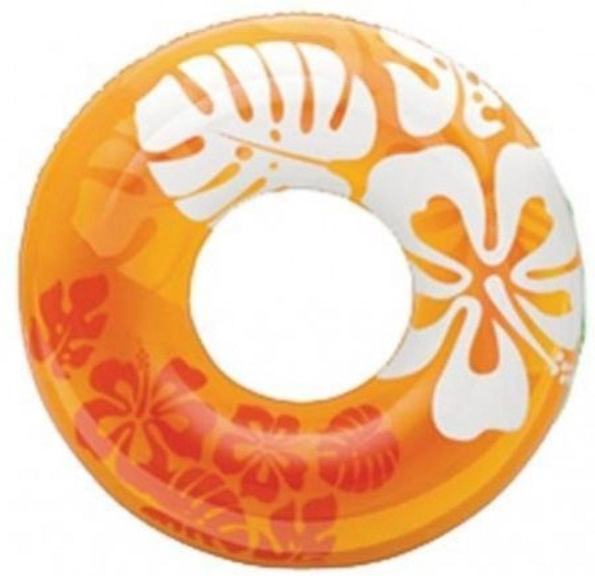 Intex Clear tube 91 cm oranje