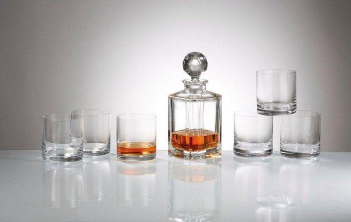 Bohemia whisky set 7 delig kopen