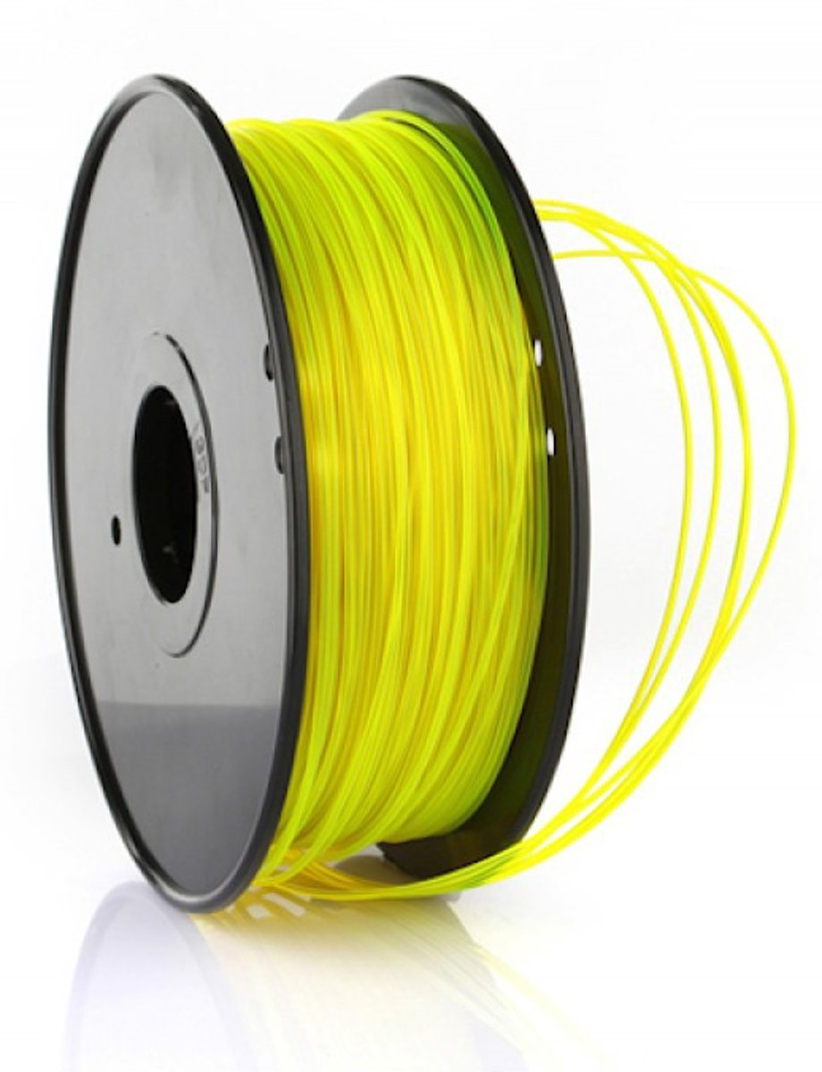 1.75mm geel PETG filament