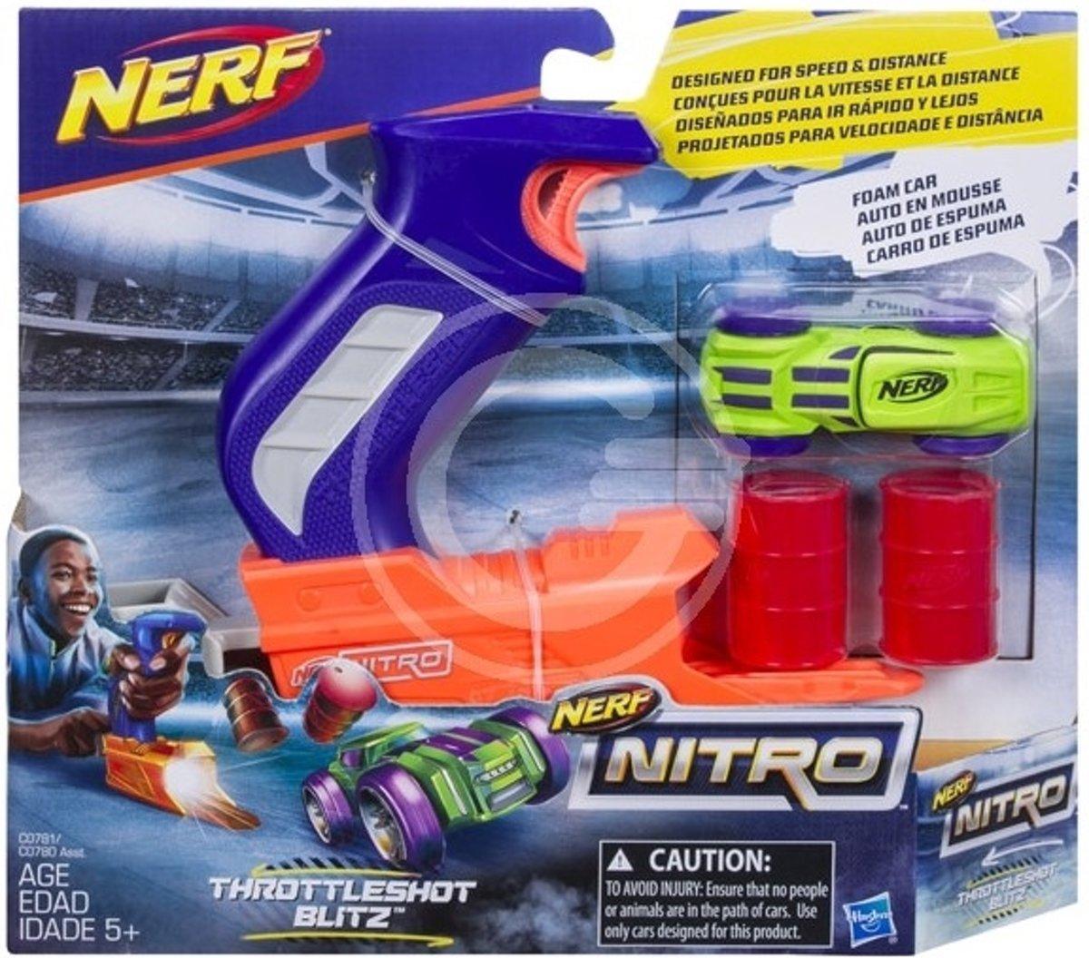 Hasbro Nerf Nitro Throttleshot Blitz