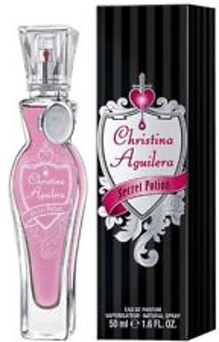 Foto van Christina Aguilera Secret Potion Edp Spray 50 ml