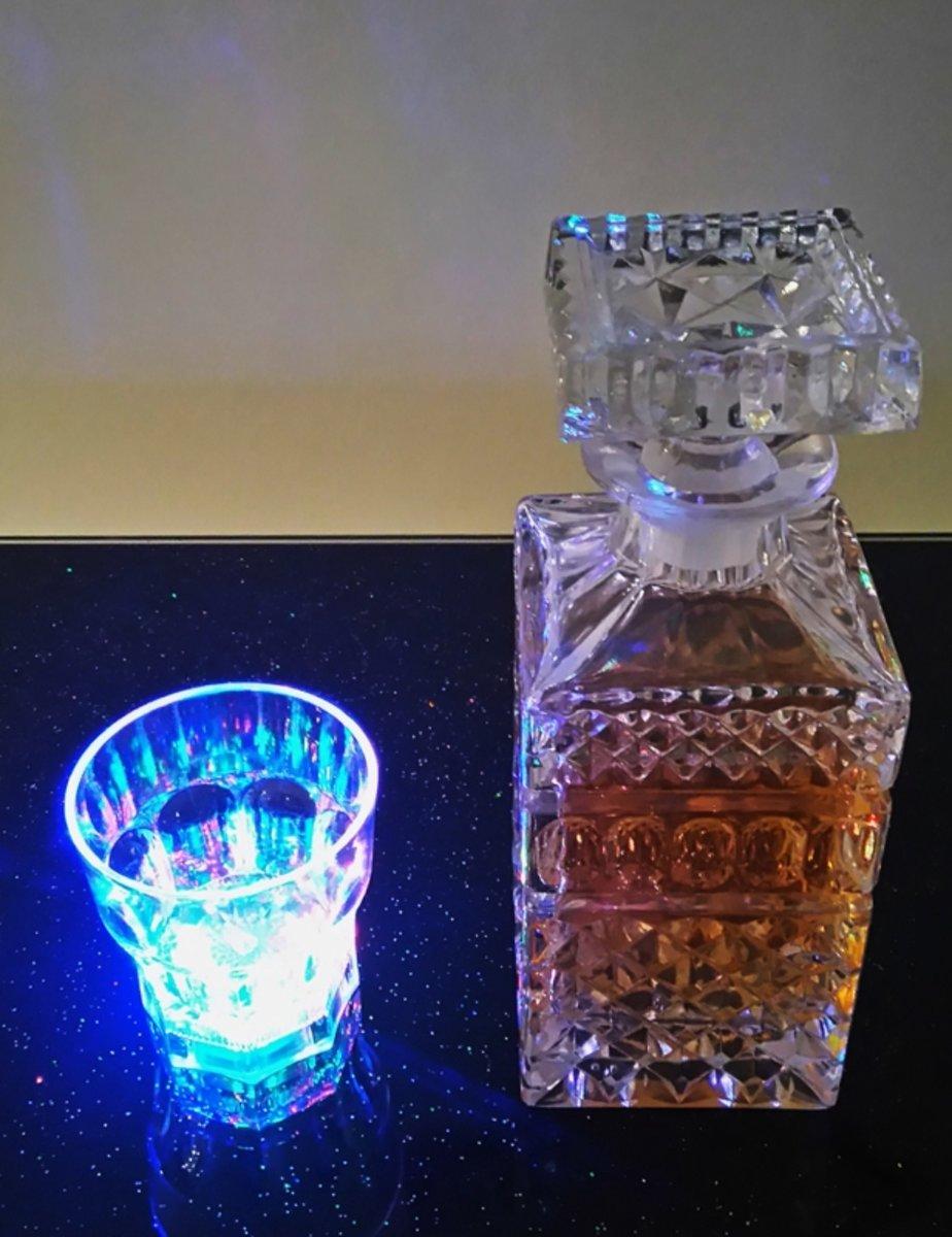 Led whiskeyglas 6 stuks kopen