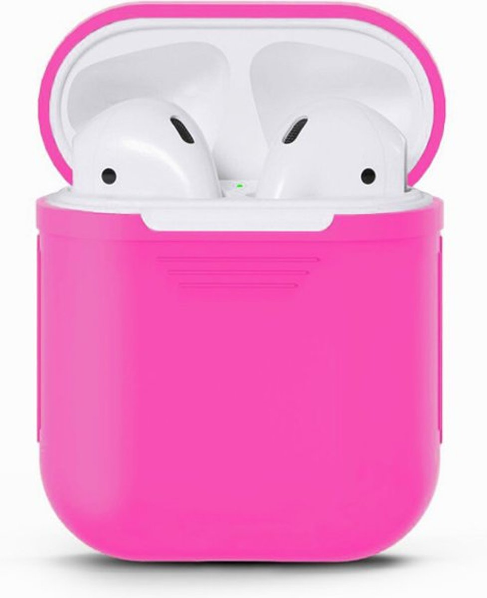 Airpods Silicone Case Cover Hoesje voor Apple Airpods - Roze kopen