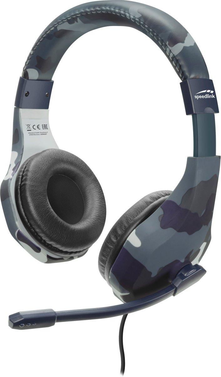 Speedlink Raidor - Stereo Gaming Headset - PS4 - Blauw kopen