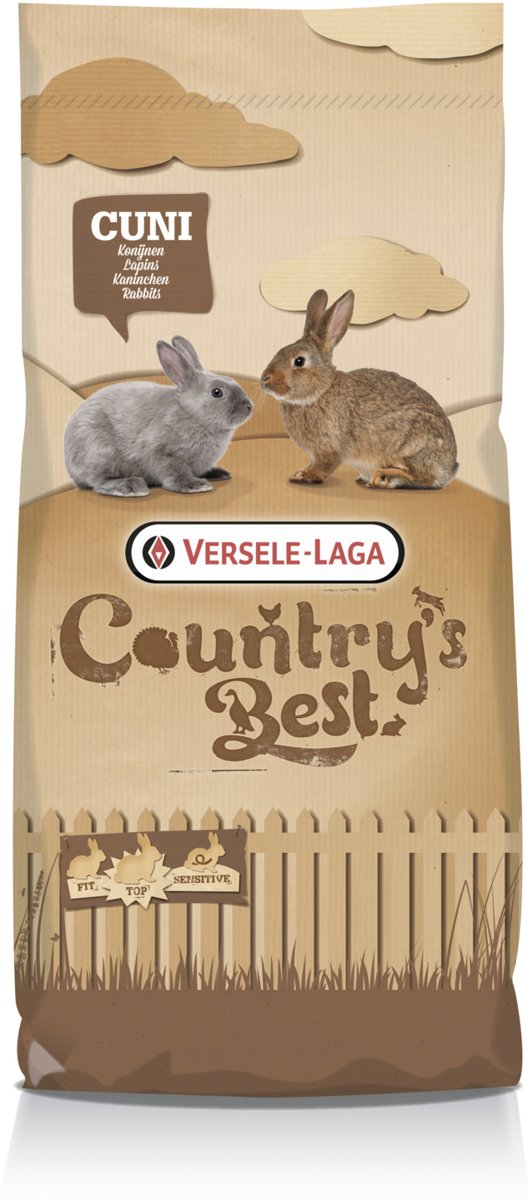 Versele-laga country's best cuni top plus - konijnenkorrel