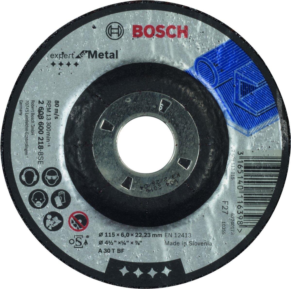 Bosch - Afbraamschijf gebogen Expert for Metal A 30 T BF, 115 mm, 22,23 mm, 6,0 mm kopen