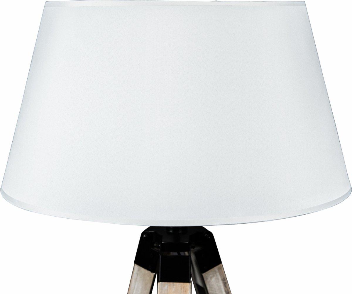 Bol.com lanterfant® lamp leen wit driepoot staande lamp