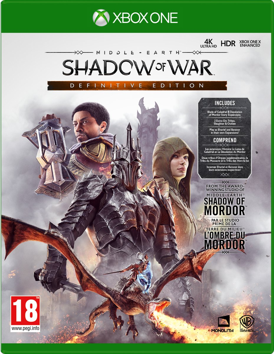 Middle-Earth: Shadow of War - Definitive Edition Xbox One