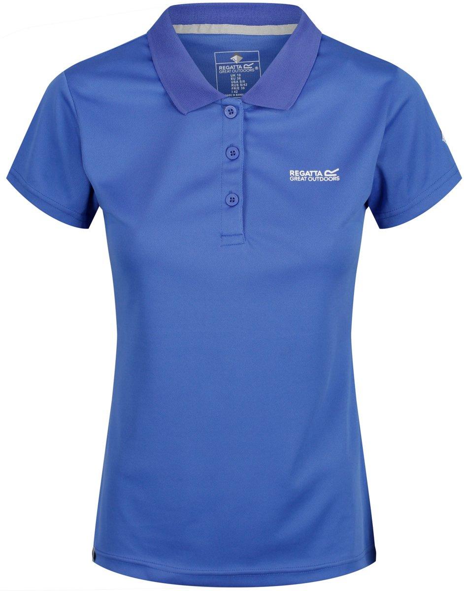 Regatta Poloshirt - Maat M  - Vrouwen - blauw kopen