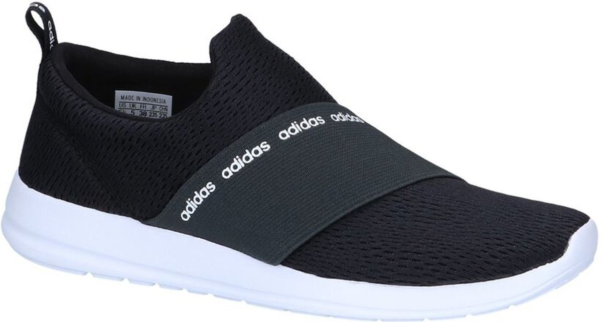Zwarte Slip on Sneakers adidas CF Refine Adapt Dames 41