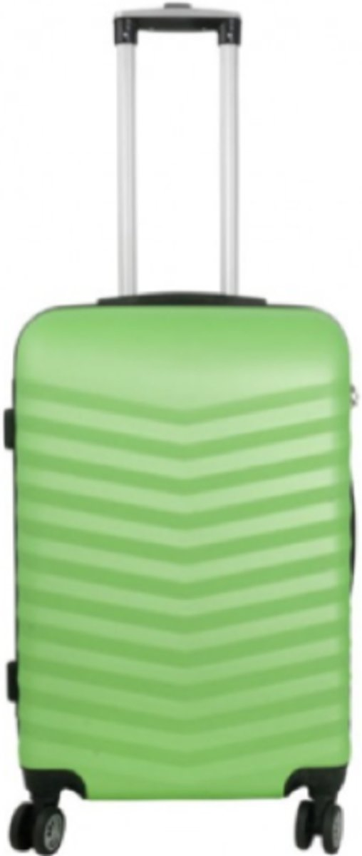 koffer Travelsuitcase kleur groen | 56cm kopen