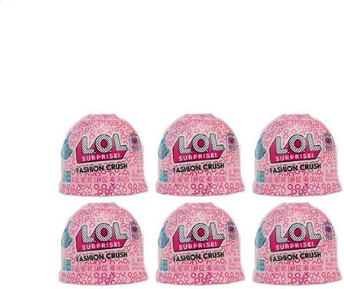LOL Surprise Fashion Crush serie 4 ( 6-pack)
