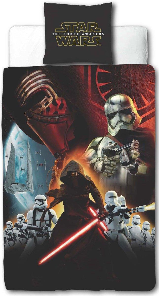 Star Wars EPVII Awaken - Dekbedovertrek - Eenpersoons - 140 x 200 cm - Multi kopen