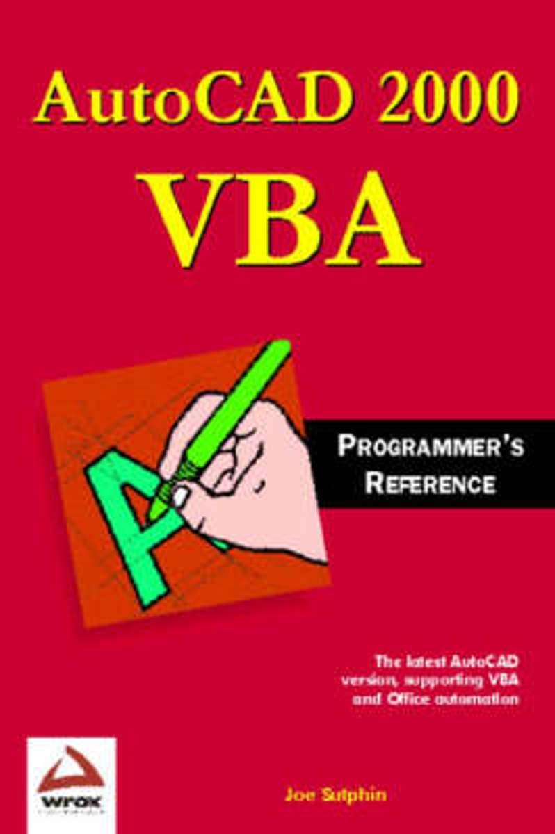 bol com   AutoCAD VBA Programmers Reference, Joe Sutphin