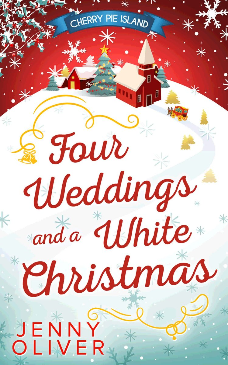bol.com | Four Weddings And A White Christmas (ebook), Jenny Oliver ...