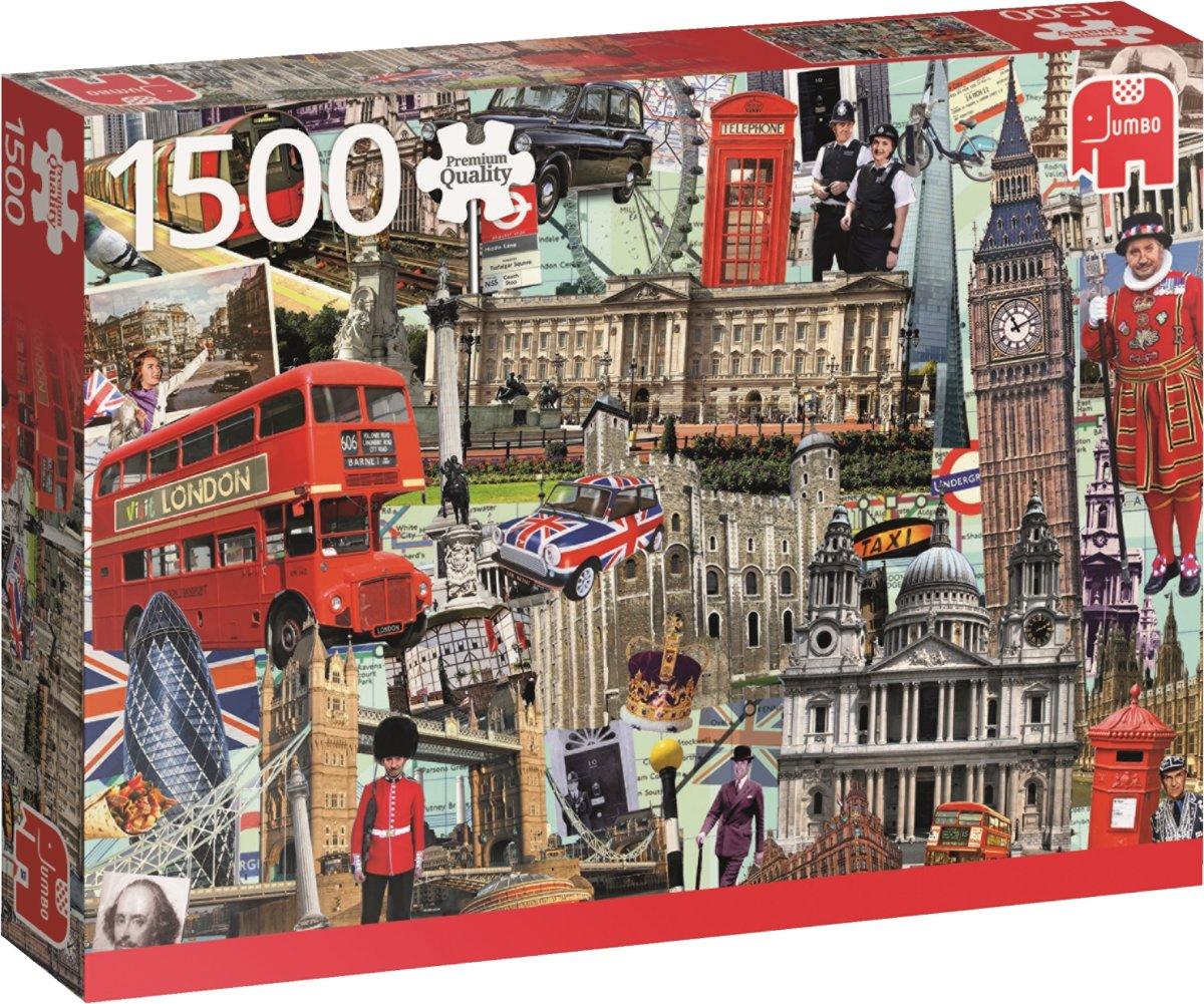 Best of London Puzzel 1500 stukjes