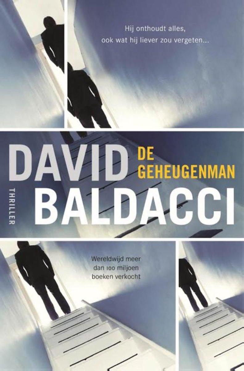 bol.com   Amos Decker 1 - De geheugenman, David Baldacci   9789400508705    Boeken